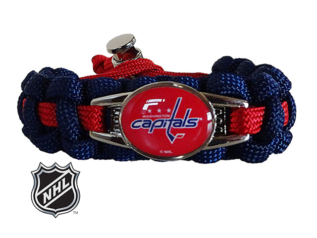 Officially Licensed NHL Washington Capitals Paracord Bracelet