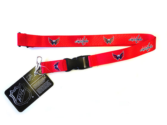 Officially Licensed NHL Washington Capitals Lanyard