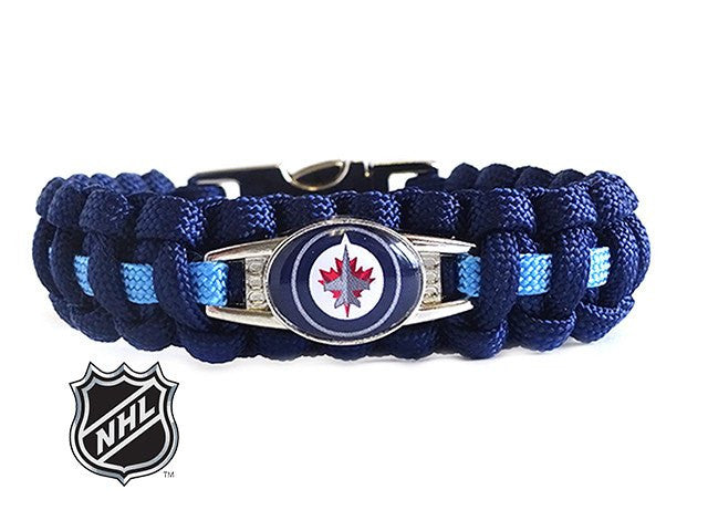 Officially Licensed NHL Winnipeg Jets Paracord Bracelet