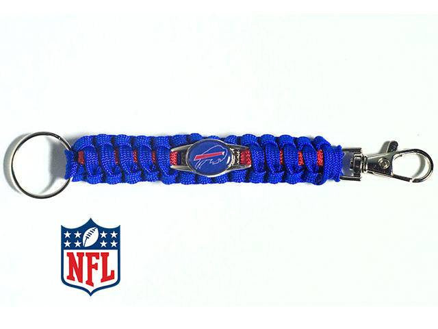 Officially Licensed Buffalo Bills NFL Paracord Keychain
