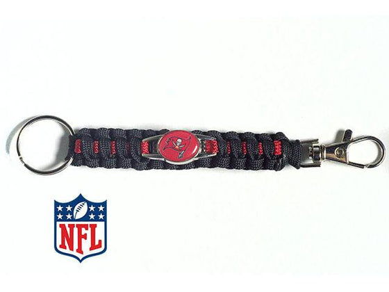 Officially Licensed Tampa Bay Buccaneers NFL Paracord Keychain