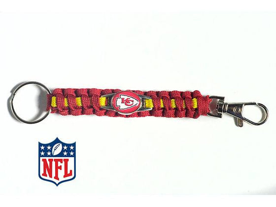 Kansas City Chiefs NFL Paracord Key Fob - 25% Off