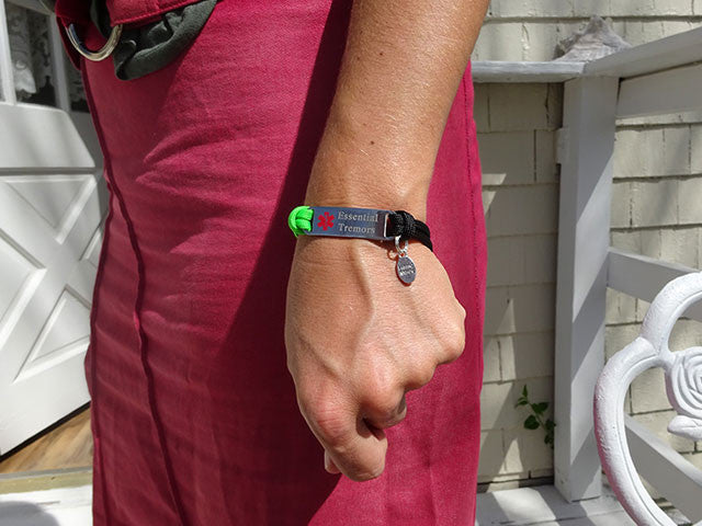"Essential Tremor ""Alert Your Medicool"" Alert Bracelet"