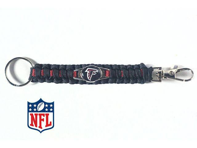 Offically Licensed Atlanta Falcons NFL Paracord Keychain