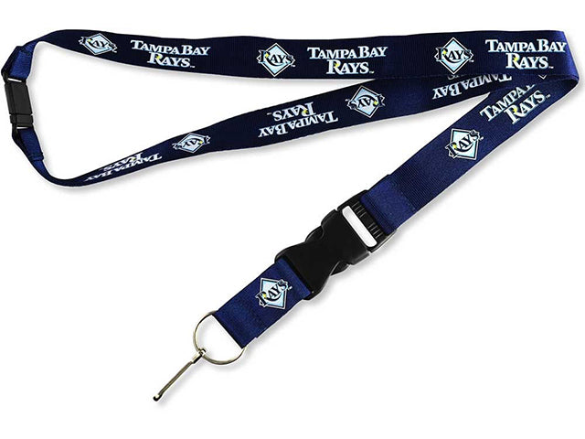 Officially Licensed MLB Tampa Bay Rays Lanyard