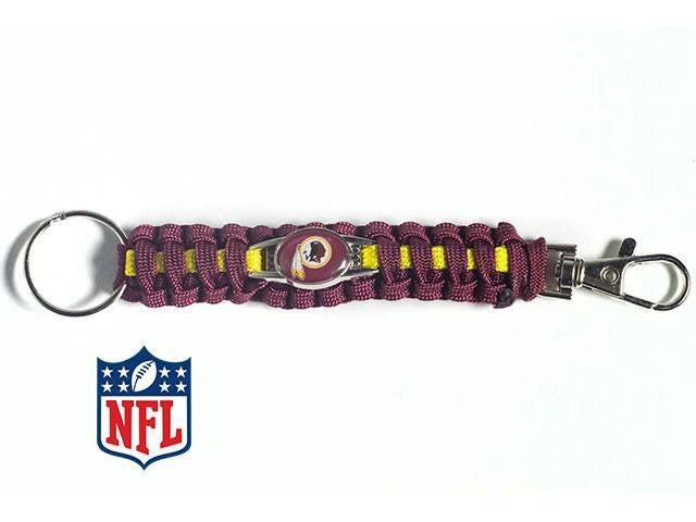 Officially Licensed Washington Redskins NFL Paracord Keychain