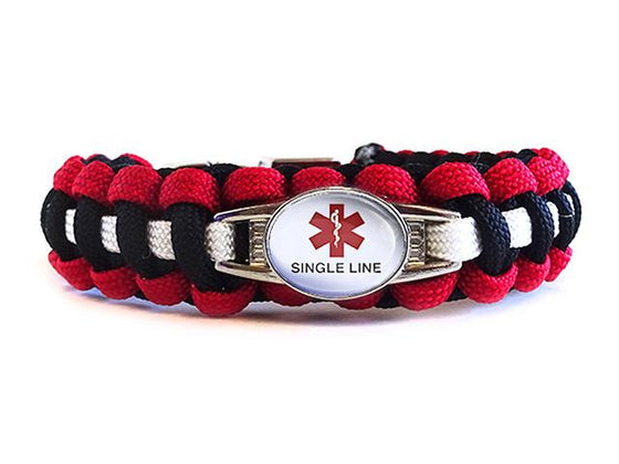 Customizable Medical ID Bracelet - Template 1