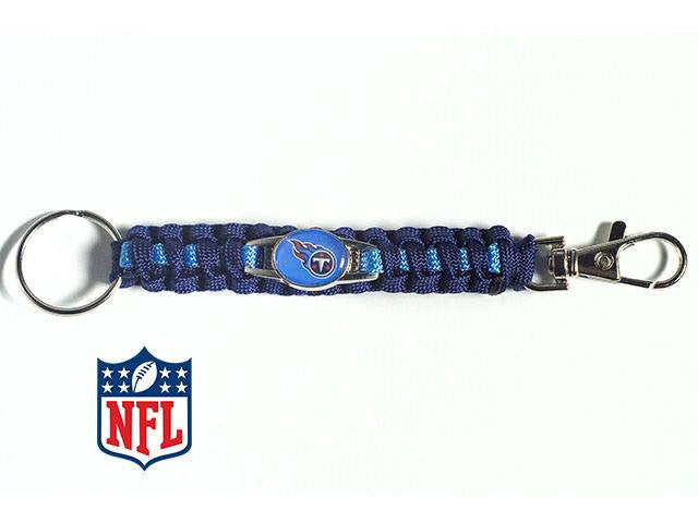 Officially Licensed Tennessee Titans NFL Paracord Keychain