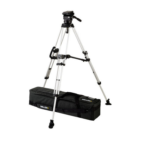 Tripod - Arrow 40 (1686) Alloy Toggle Tripod, 2 Stage System - Mid Level Spreader - Vizcom Technologies - 1