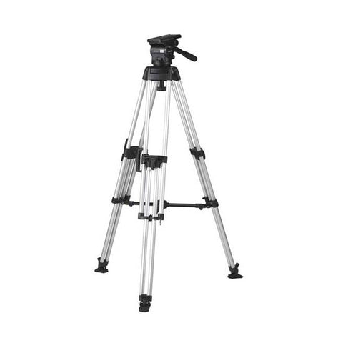 Tripod - Arrow 55 (1737) Alloy Toggle Tripod, 1 Stage HD System - Mid Level Spreader - Vizcom Technologies - 1