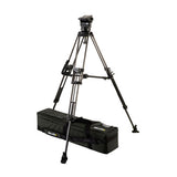 Tripod - Arrow 25 (1778) Carbon Fibre Toggle Tripod, 2 Stage System - Mid Level Spreader - Vizcom Technologies - 1