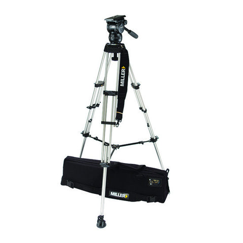 Tripod - Compass 15 (1828) Alloy Toggle 2 Stage Tripod System, Mid Level Spreader - Vizcom Technologies - 1