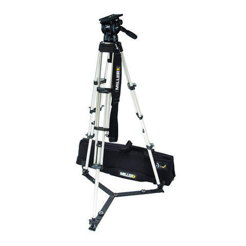 Tripod - Compass 25 (1851) Alloy Toggle Tripod, 2 Stage System - Ground Spreader - Vizcom Technologies - 1