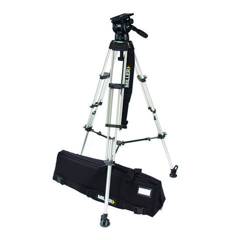 Tripod - Compass 25 (1852) Alloy Toggle Tripod, 2 Stage System - Mid Level Spreader - Vizcom Technologies - 1
