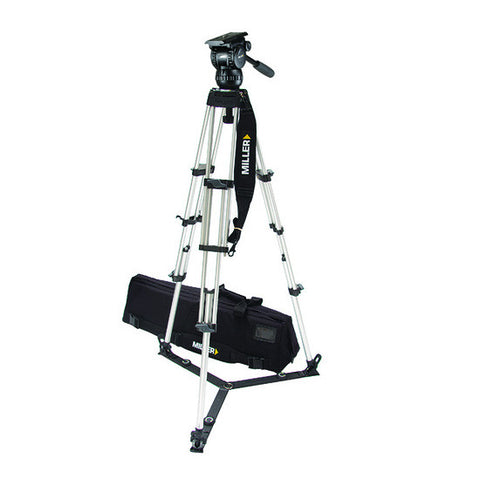 Tripod - Compass 12 (1874) Alloy Toggle 2 Stage Tripod System - Ground Spreader - Vizcom Technologies - 1