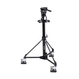 Tripod - Arrow 40 (1977) Combination Pedestal - Studio Dolly - Vizcom Technologies - 1