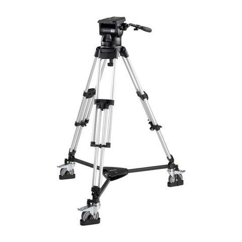 Tripod - Skyline 70 (2075) Alloy Tripod, 1 Stage HD System - w/ Dolly - Vizcom Technologies - 1