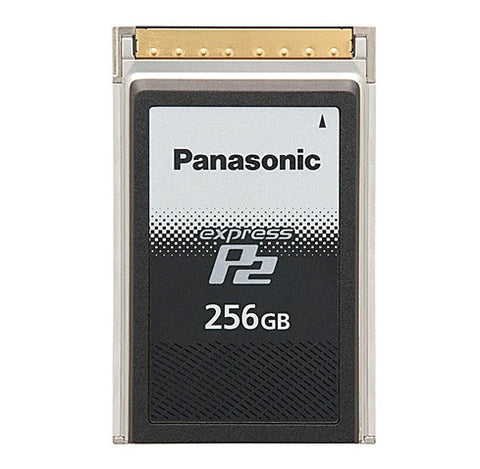 Media - Panasonic AU-XP0256AG | 256GB ExpressP2 Memory Card for Varicam35 4K and Varicam HS Recording - Vizcom Technologies