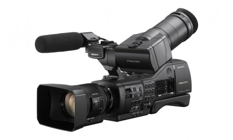 Professional Camcorder - Sony NEX-EA50H NXCAM Camcorder with 18-200mm 11x Power Zoom E-mount lens - Vizcom Technologies - 1