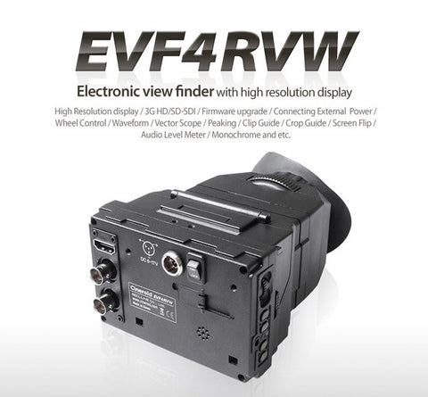 Viewfinder - Cineroid EVF4RVW - Metal with Retina Display SDI/HDMI in SDI loop out - Vizcom Technologies - 1