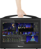Vision Switcher - Livestream HD550 | Compact portable all-in-one production switcher - Vizcom Technologies - 4