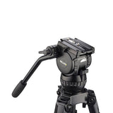 Tripod - Compass 15 (1828) Alloy Toggle 2 Stage Tripod System, Mid Level Spreader - Vizcom Technologies - 3