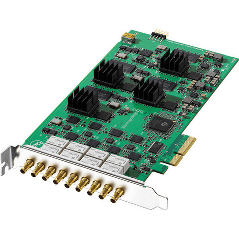 PCIe - Blackmagic Decklink Quad (requires DIN to BNC adaptors) - Vizcom Technologies