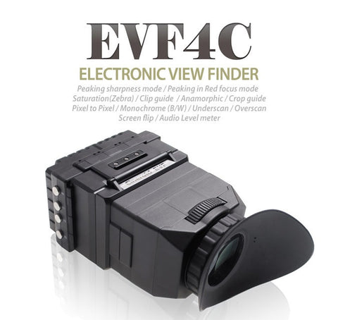 Viewfinder - Cineroid EVF4C HDMI in HDMI loop out - Vizcom Technologies - 1