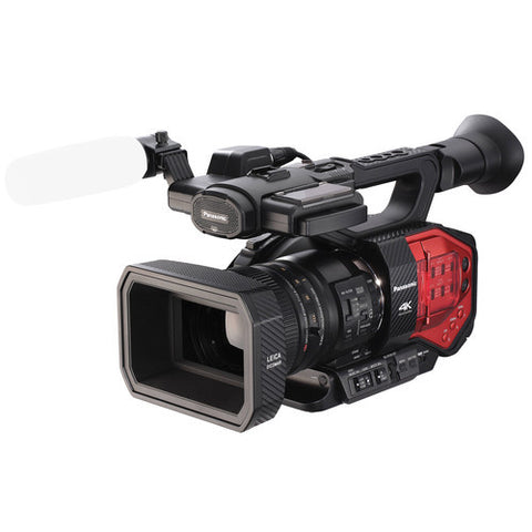 Professional Camcorder - Panasonic AG-DVX200 4K Handheld Camcorder with Four Thirds Sensor and Integrated Zoom Lens - Vizcom Technologies - 1