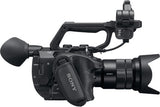 Professional Camcorder - Sony PXWFS5 4K XDCAM Super 35 Camera System (Body Only) - Vizcom Technologies - 3