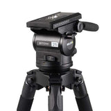 Tripod - Arrow 25 (1770) Alloy Toggle Tripod, 1 Stage System - Mid Level Spreader - Vizcom Technologies - 3
