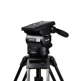 Tripod - Arrow 40 (1690) Carbon Fibre Toggle Tripod, 2 Stage System - Mid Level Spreader - Vizcom Technologies - 3