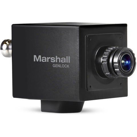 POV & Action Cameras - Marshall CV565-MGB Mini Genlock Broadcast HD Camera 2.5MP (3G-SDI/HDMI) - Vizcom Technologies - 1
