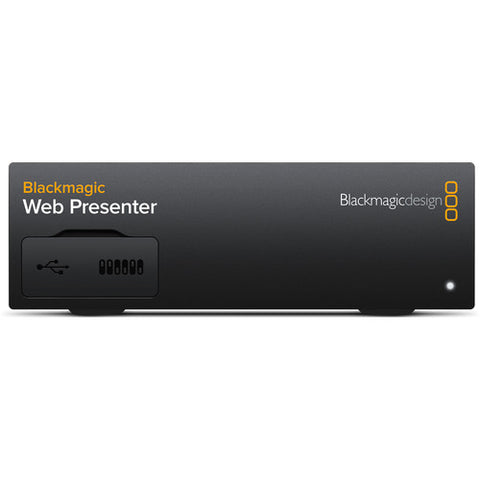 Blackmagic Design Web Presenter (SDI or HDMI camera encoder for live streaming) | BDLKWEBPTR