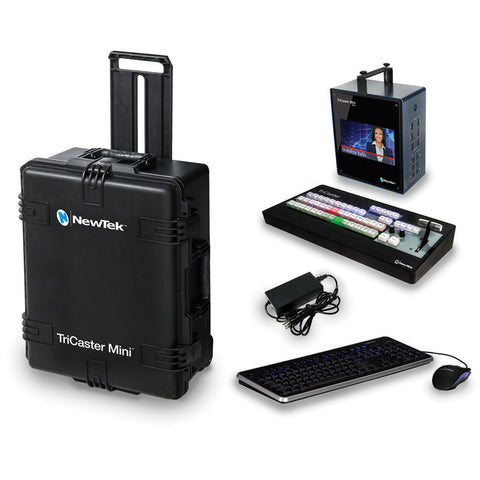 Vision Switcher - NewTek Tricaster Mini 4x HDMI In - Bundle - Vizcom Technologies