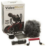 Microphone - Rode			 VideoMicro Compact On-Camera Microphone - Vizcom Technologies - 3