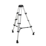 Tripod - Miller Compass 20 (1841) Alloy Toggle 2 Stage Tripod System, Mid Level Spreader - Vizcom Technologies - 2