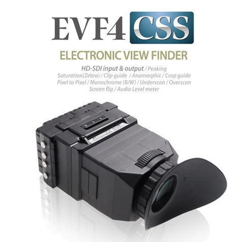 Viewfinder - Cineroid EVF4CSe - HDSDI in HDSDI Loop Out - 50/60P compatible - Vizcom Technologies - 1