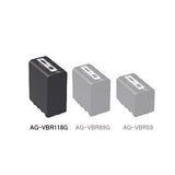 Battery - Panasonic AG-VBR118G 11800mAh Li-ion Battery for AG-DVX200 - Vizcom Technologies