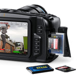 Blackmagic Pocket Cinema Camera 4K.
