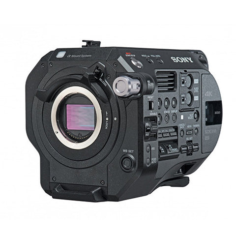 Professional Camcorder - Sony PXWFS7M2 (Body Only) - FS7II 4K Super35 lens-interchangeable XDCAM - Vizcom Technologies - 1