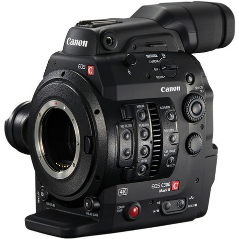 Professional Camcorder - Canon C300 Mark II Cinema EOS Camcorder 4K Internal - EF Mount - Vizcom Technologies - 1