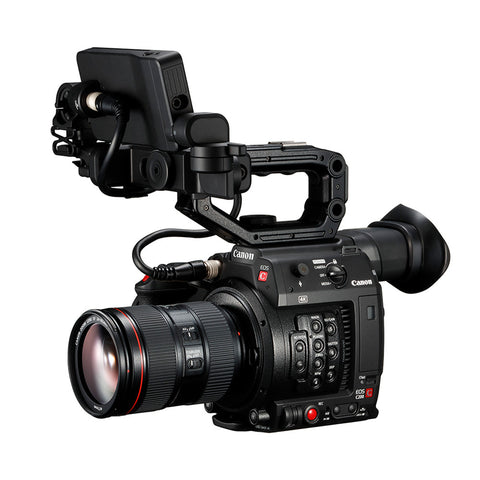 Canon Cinema EOS C200 Pro Camera | 4K at 50/60p in new RAW Light