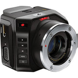 POV & Action Cameras - Blackmagic Design Micro Cinema Camera | CINECAMMICHDMFT - Vizcom Technologies - 2
