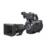 Professional Camcorder - Sony PXWFS7M2 (Body Only) - FS7II 4K Super35 lens-interchangeable XDCAM - Vizcom Technologies - 3