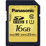 Media - Panasonic 16GB SDHC UHS-I Card, UHS Speed Class 3 (U3) for 4K recording on the GH4 - Vizcom Technologies