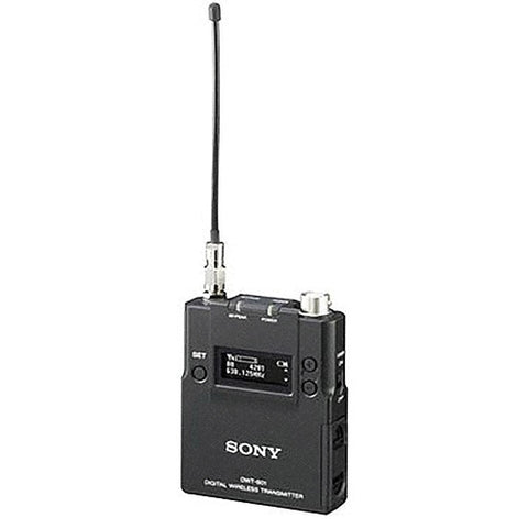 Microphone - Sony DWTB01N Digital Wireless Transmitter Body Pack, DWX Series - Vizcom Technologies