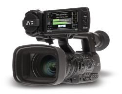 "Professional Camcorder - JVC GY-HM650E 3 x 1/3"" Full HD Live streaming ENG camcorder - Vizcom Technologies"