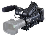 Professional Camcorder - JVC GY-HM850CHE Full HD shoulder-mount ENG streaming camcorder, without lens - Vizcom Technologies