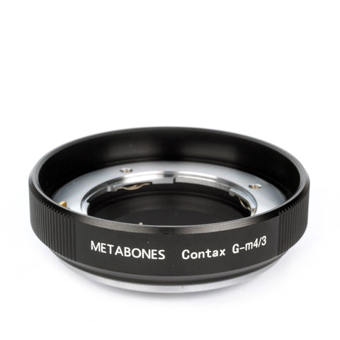 Adapter - Metabones ContaxG to Micro 4/3 (MB_CG-m43-BM1) - Vizcom Technologies